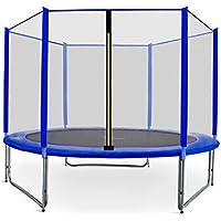 Preisvergleich für Gartentrampolin Aga Sport Pro, Trampolin Set mit Sicherheitsnetz, Federabdeckung und Sprungmatte! Gepolsterten Netzpfosten und Randabdeckung! 10ft-305cm
