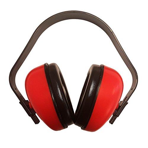 silverline Kapselgehörschutz PROTEKT BASIC, Gehörschutz, Gehörschutzkapsel 27dB, Helm Gehörschutz, Lernhilfe für Schulunterricht, Kindergehörschutz
