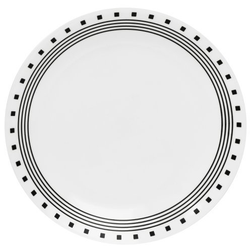 Corelle Livingware 10-1/4-Inch Dinner Plate, City Block by Corelle Coordinates Corelle City-block