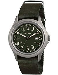 Orologio BREIL uomo ARMY quadrante verde e cinturino in sintetico verde, movimento SOLO TEMPO - 3H QUARZO