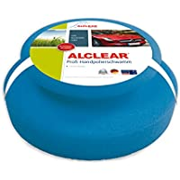 ALCLEAR 5713050M Professional Hand Polishing Sponge 130 x 50 mm with All-Round Handle Strip for Waxing and Polishing Paint Cleaner Blue preiswert