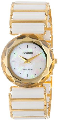 Jowissa - J1.004.M - Montre Femme - Quartz Analogique - Bracelet Céramique Blanc
