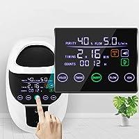 S SMAUTOP Concentrador de oxígeno, máquina de oxígeno portátil ajustable de 1-7L / min para uso doméstico y de viaje (Actualización)