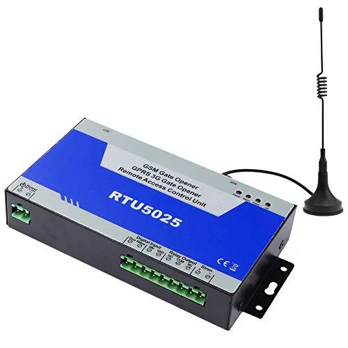 Cablematic - Control remoto por GSM de apertura de puertas y equipos eléctricos RTU5025W