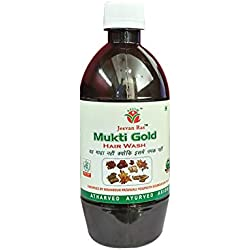 Jeevanras Mukti Gold Hairwash Combo (500 ml)-Pack of 2