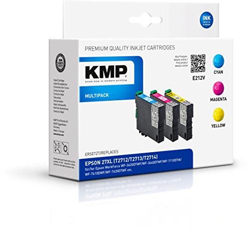 Preisvergleich Produktbild KMP Multipack für Epson WorkForce WF-3600/WF-7600, E212V
