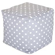 Majestic Home goods Ikat Dot cubo interior y exterior para