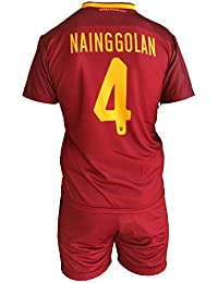 Complete Pantalones y Camiseta de fútbol Roma radja naingg Olan 4 Réplica Autorizados 2017 – 2018