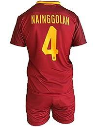 Complete Pantalones y camiseta de fútbol Roma radja naingg Olan 4 Réplica  Autorizados 2017 – 2018 3706d783d75c5