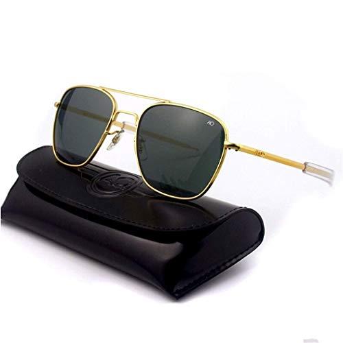 Yuany Sonnenbrille Pilot USA Boutique AO Innenbeschichtung Platte Beine 1,5 Dicke polarisierte Sonnenbrille mit Verpackung Männer und Frauen