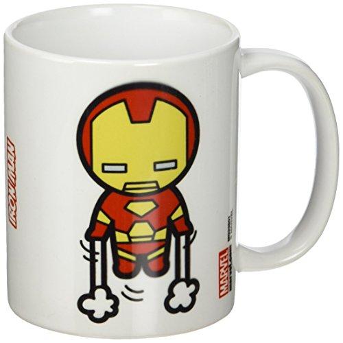 Marvel-Tazza in ceramica, soggetto: Iron Man, colore: multicolore