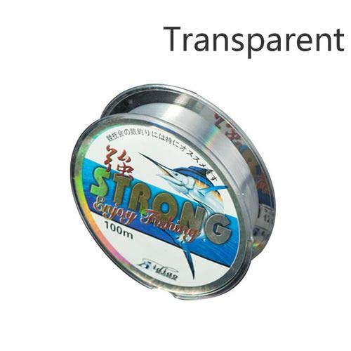 ZHENGFEI Fishing Line Super Strong High Tensile Fluorocarbon 100M Fishing Line Fishing Tackle Accessories