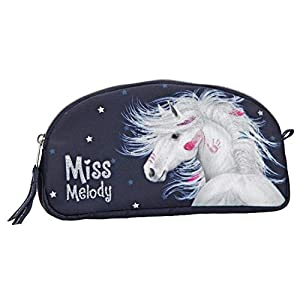 Top Model Miss Melody Bolsa de Maquillaje Azul (0010595), Multicolor (DEPESCHE 1)