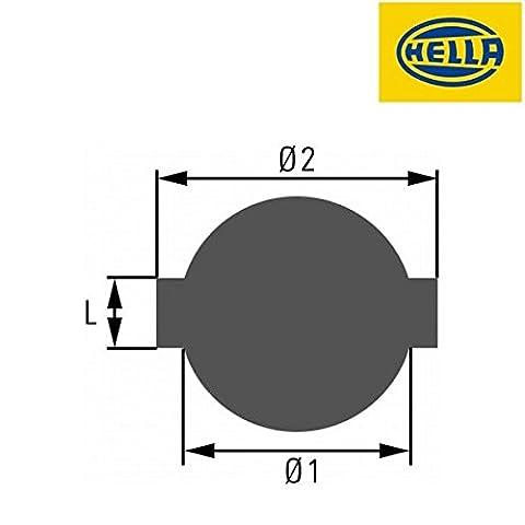HELLA Verschluß für Kraftstoffbehälter, 8XY 007 022-001