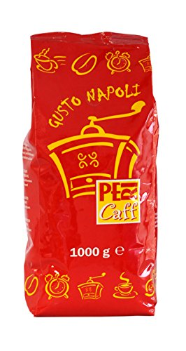 "Café Italiano en Grano - Pericaff - ""GUSTO NAPOLI"" - Línea Bar - 1Kg - Elaborado a partir de una antigua receta napolitana"