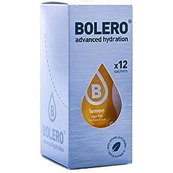 Paquete de 12 sobres bebida Bolero sabor Limón con Stevia
