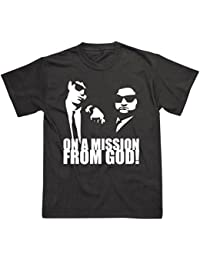 Blues Brothers Inspired On a Mission From God T-Shirt
