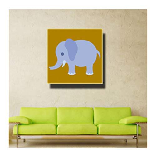 Dibujos animados Animales lindos imprimir pintura