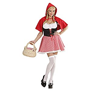 WIDMANN – Red Riding Hood Costume Adult, Size M (77012)