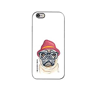 iSweven One dog hat design printed matte finish back case cover for Apple iPhone 6S Plus