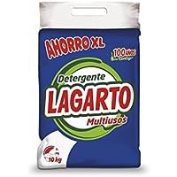 Lagarto Profesional Detergente en Polvo para Lavado a Mano - Multiusos - 10000 gr