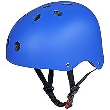 CoastaCloud - Casco De Ciclismo Unisex Para Bicicleta Esquí Patinaje Deportes Al Aire Libre Azul M