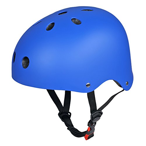 coastacloud-casco-bici-casco-da-skateboard-junior-casco-da-pattinaggio-in-linea-mountain-bike-blu-s