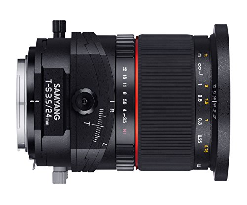 Cheapest Samyang 24 mm F3.5 T/Lens for connection