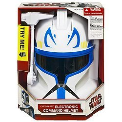 Rex Wars Kostüm Captain Star - Star Wars Clone Wars Captain Rex Helm