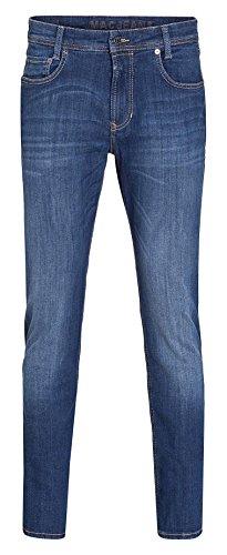 MAC Herren Straight Jeans Macflexx deep blue authentic wash