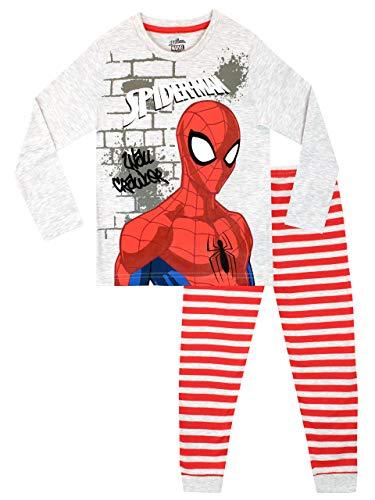 Marvel Pijamas Manga Larga niños El Hombre Araña