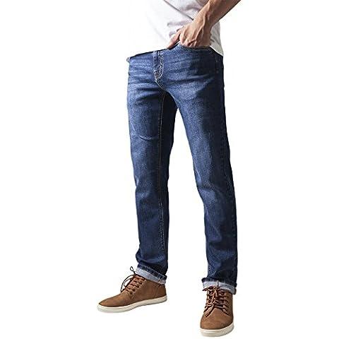 Urban Classics Stretch Denim Pants, Azul Para Hombre