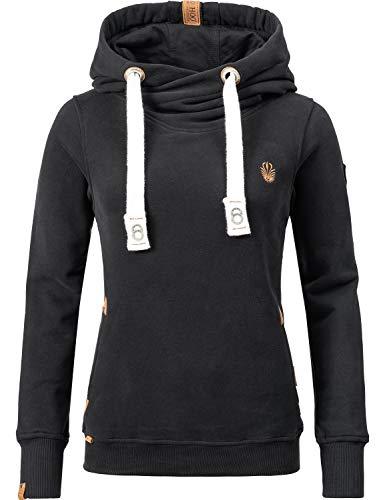 Navahoo Damen Sweatshirt Hoodie Namikaa 6 Farben S-XXL