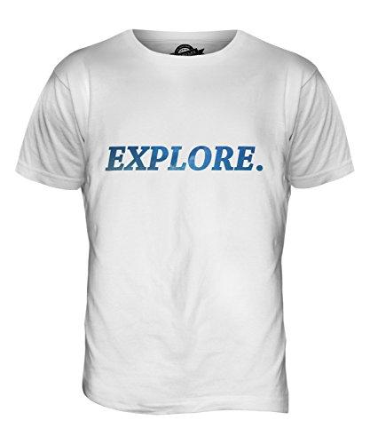 CandyMix Erforschen Sie Weltraum Herren T Shirt Weiß
