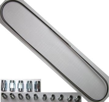 1x Bremsleitung 10x Verschraubung 5x Verbinder 4,75 mm Bördel F PROFI-QUALITÄT MADE IN GERMANY