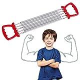 Ducomi Extenseur de Poitrine réglable à Ressorts en Acier pour résistance, Exercice et renforcement Musculaire - Extenseur de...