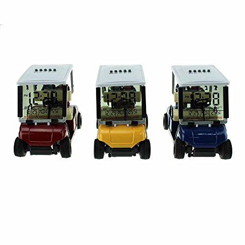 Crestgolf Mini Golf Cart Alarm Clock,Miniature Golf Buggy