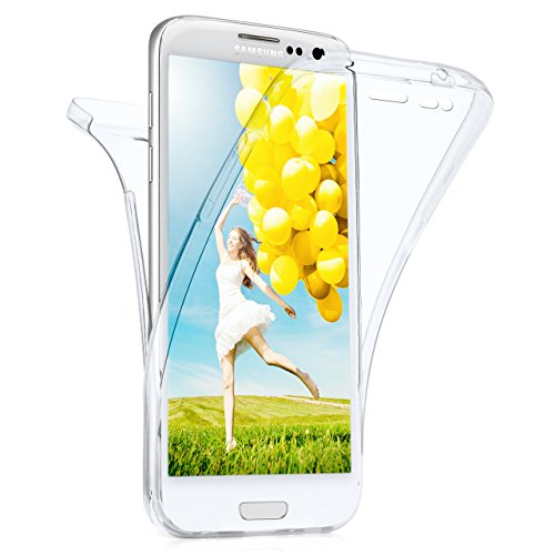 MoEx Samsung Galaxy S3 Hülle Silikon Transparent 360 Grad [OneFlow Double Side Cover] Dünne Schutzhülle Slim Handyhülle für Samsung Galaxy S3/S III Neo Case Klar Silikonhülle TPU