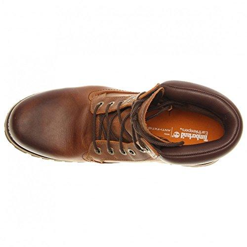 Timberland 6 In Wp Plain Toe Boot, Chaussures montantes homme Brun clair et brun foncé