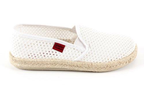 Andres Machado.AM500.Chaussures classiques, en cuir avec lacets .Grandes pointure de la 46 à la 51. Grille Blanc