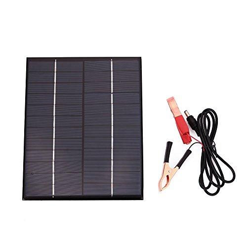 Cewaal Hanbaili Auto Fahrzeug Auto wasserdicht polykristallin 5.5W 12V Solar Panel Batterieladegerät