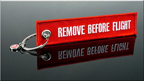 "Portachiavi - ""Remove Before Flight"" *** ""Original"" ***"