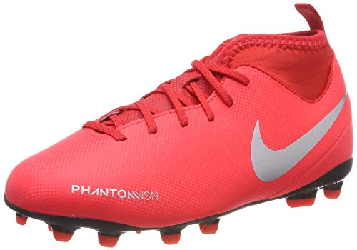 outlet store be1df 440a1 Nike Jr Phantom Vsn Club DF FG/MG, Zapatillas de Fútbol Unisex Niños,