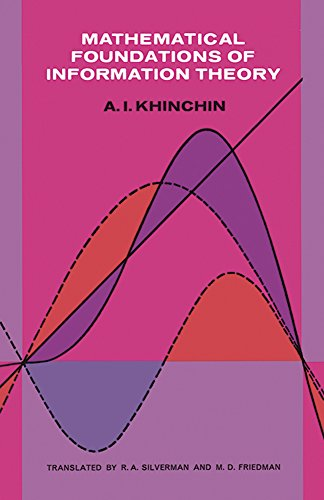 Mathematical Foundations of Information Theory (Dover Books on Mathematics) por A. Ya. Khinchin