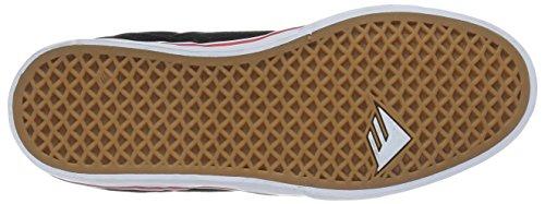 Emerica The Reynolds Low Vulc, Chaussures de skateboard homme Noir