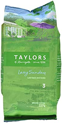 Taylors Of Harrogate Lazy Sunday Ground Coffee 227 G by TAYP3