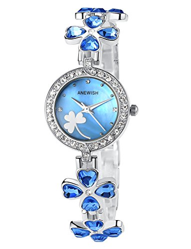 FLORAY Pulsera de moda para Mujeres , Hermoso Reloj de pulsera , Crist