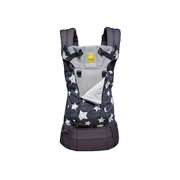 LILLEbaby Baby and Child Carrier Lillebaby With a temperature regulating breathable panel and 6 carrying positions - foetal, infant inward, outward, toddler inward, hip, back - the only carrier you'll ever need! Suitable from 3.2- 20kg (birth to approx. 4 years old), providing extended comfortable use for parent and child with no additional infant support required for new-borns The ergonomic adjustable seat is acknowledged as 'hip-healthy' by the international hip dysplasia institute 1