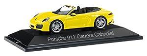 Herpa-Porsche 911Carrera Cabriolet 991II (Escala H0, 71024