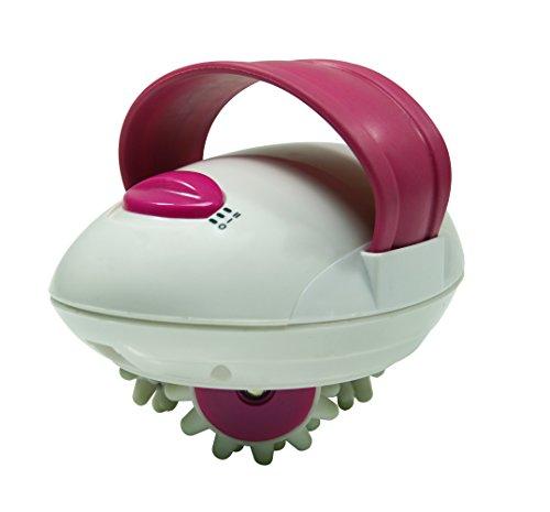 Jocca 6181R - Masajeador anticelulítico, color blanco y rosa